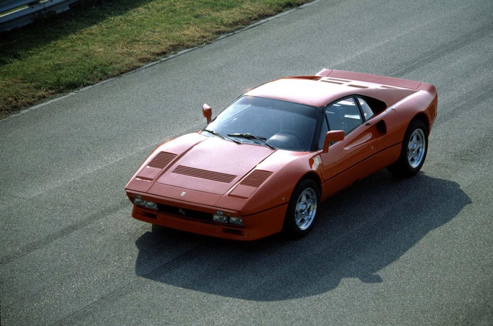 Capostipite Ferrari La prima super car in serie limitata, 1984